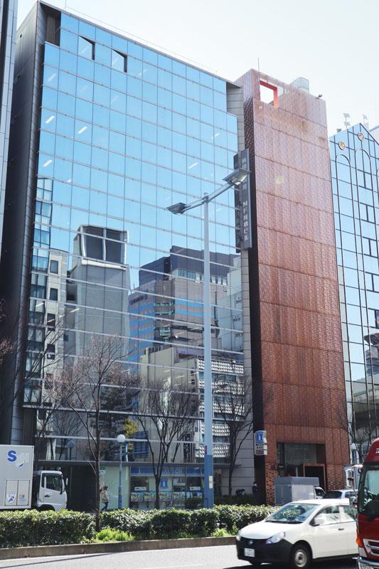 MF桜橋ビルの外観(向かいからのアングル))